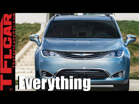 2017 Chrysler Pacifica (Goodbye Town & Country): Everything You Ever Wanted to Know