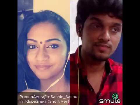 Inji idupazhagi singers Preena Anuraj & Sachin
