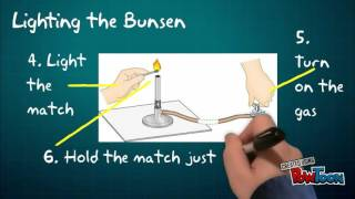 Bunsen Burner - part of course