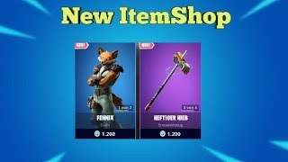 Fortnite Item Shop 26.8.19 I KRASSER NEW SKIN + SPITZHACKE I Fortnite Battle Royale Shop