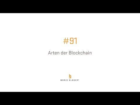 #91 Arten der Blockchain