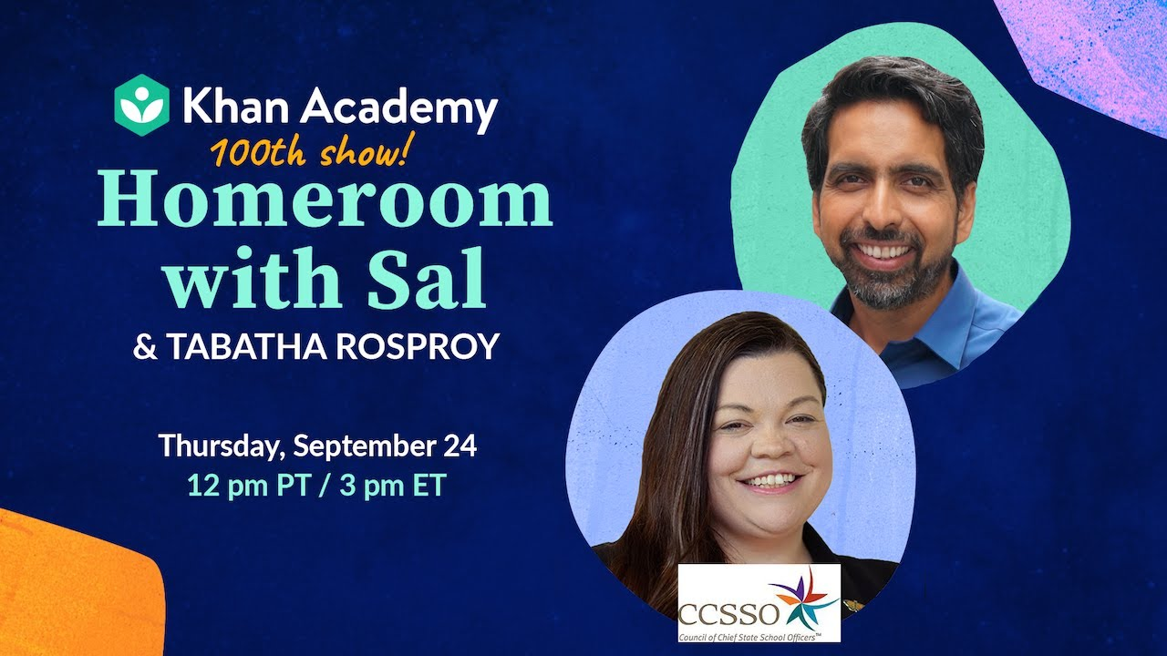 🎉100th show! 🎉 Homeroom with Sal & Tabatha Rosproy - Thursday, September 24