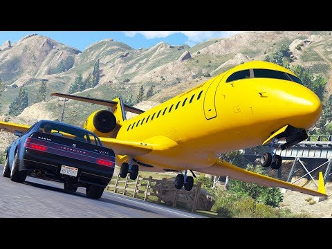 Aircraft in Distress | GTA 5 Airplane Hard Landings