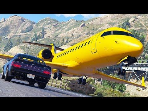 Aircraft in Distress | GTA 5 Airplane Crashes and Hard Landings thumbnail