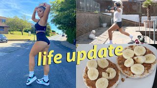 Life update, body insecurities, working out & day in my life!