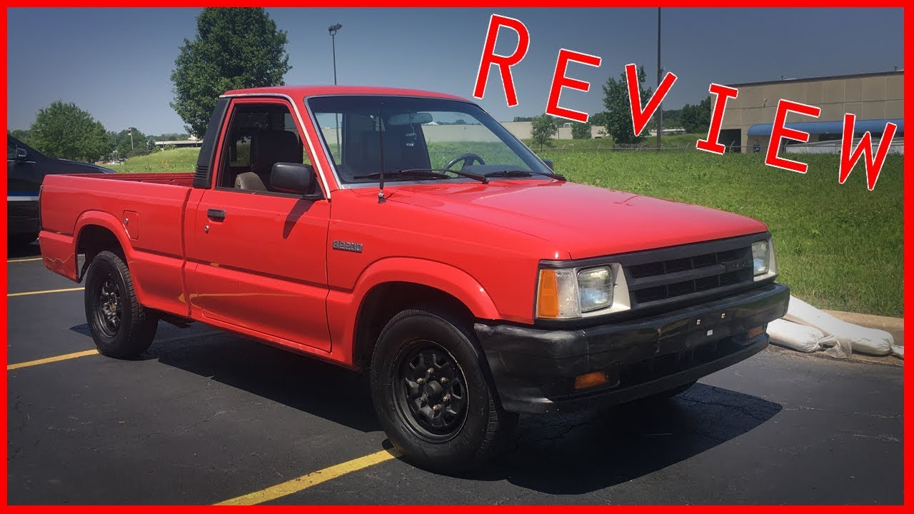 1991 Mazda B2200 Review Youtube