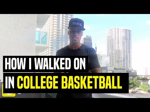 How I Walked On In College Basketball | Dre Baldwin