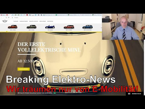 Breaking Elektro-News: BMW = E-Mobilitäts-Spitze? Mini SE Preise, Renault Elektroauto Für 9000 USD