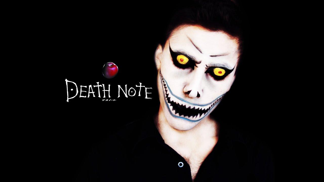 DEATH ✝ NOTE - RYUK ◇ Anime Makeup Tutorial - YouTube