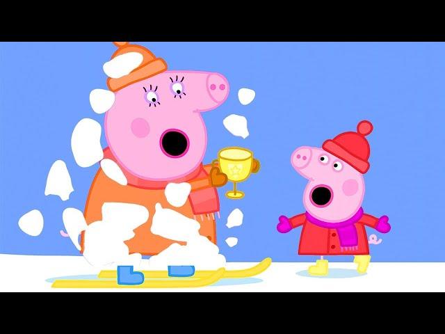 Peppa Pig Français ❄️ L'hiver arrive | Dessin Animé Pour Bébé