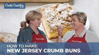 How to Make New Jersey Crumb Buns