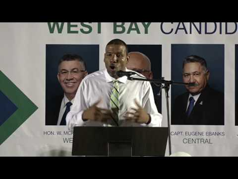 CDP West Bay Public Meeting - Cayman Islands