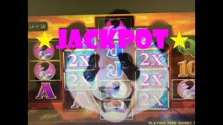 ★JACKPOT 😍☆Beautiful x1000 Hand Pay ! ★PANDA PALACE Slot machine (IGT) @San Manuel Casino ☆彡 栗スロ