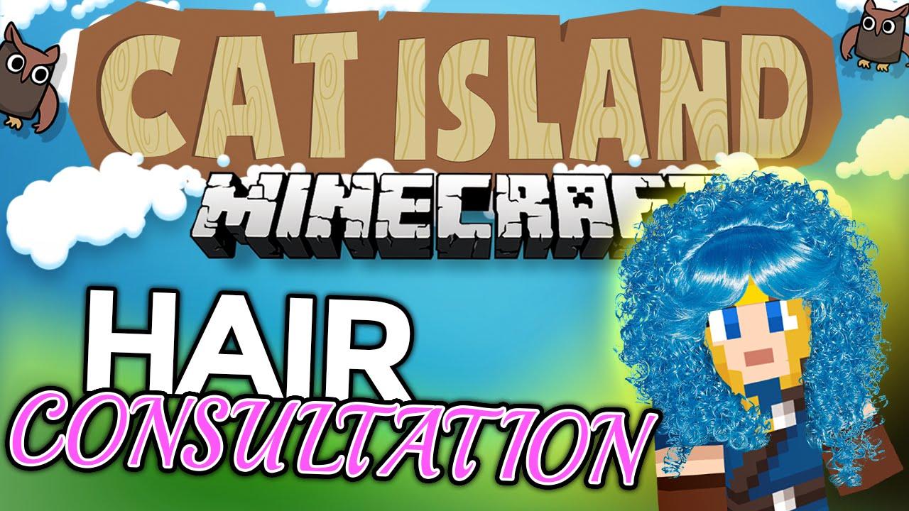 Minecraft: Cat Island #38 - Hair Consultation