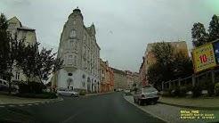CZ: Aš (Asch). Karlovarský kraj. Rundfahrt durch die Stadt. August 2019