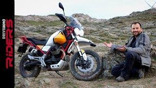 Moto Guzzi V85 TT. Is it a True Adventure Bike?   Review
