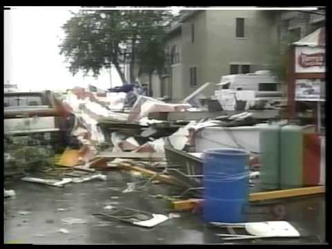 Channel 9 News Labor Day Storm Special - Syracuse, NY - 9/7/98