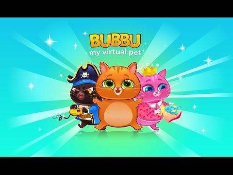 Играем в игру Bubbu - вырастить питомца   Play the game Bubbu - grow a pet