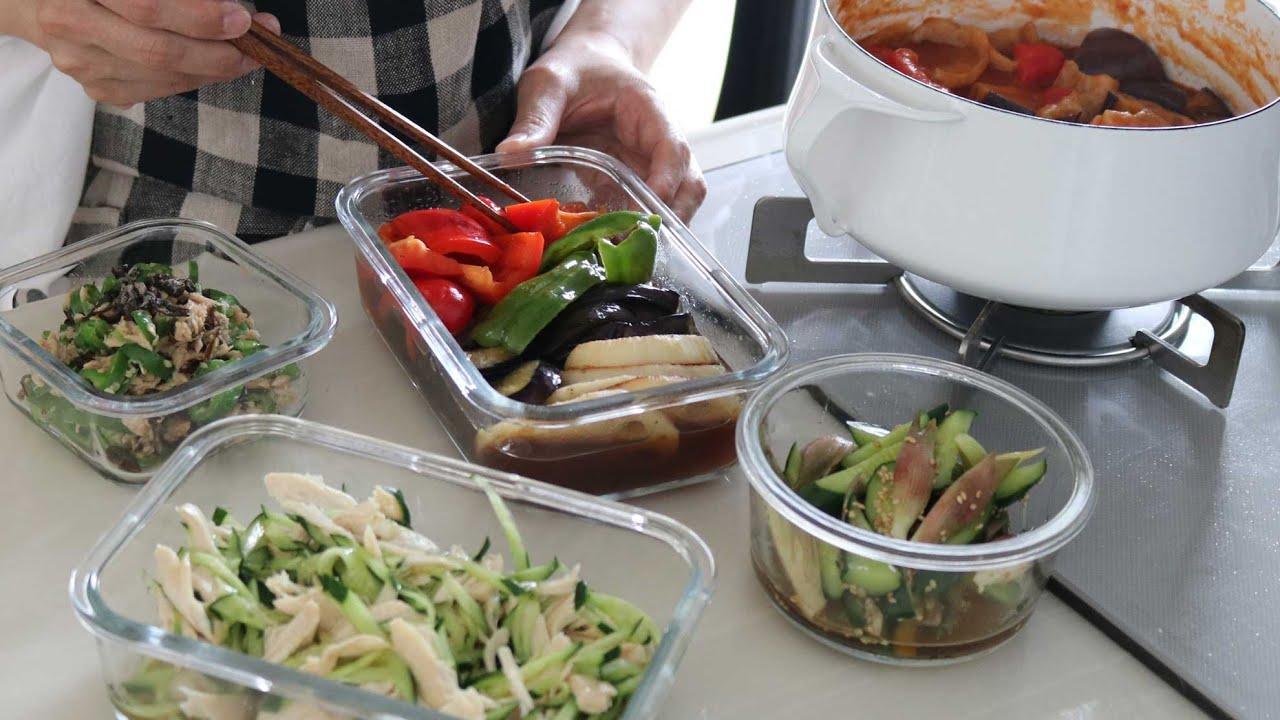 【ゆるっと作り置き】夏に食べたい簡単すぎる作り置き5品
