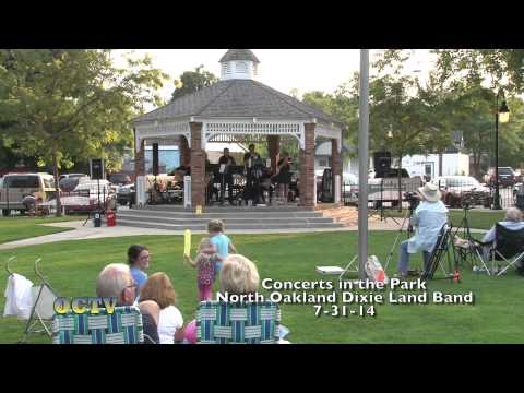 Concerts in the Park: North Oakland Dixie Land Band: 7-31-14