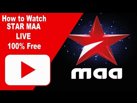 HOW TO WATCH LIVE STAR  MAA LIVE TV STREAM (Working )