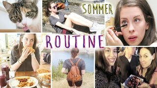 SOMMER ROUTINE: SPORT, Make-Up, MAMA, FREUNDE, ESSEN | SOMMER in WIEN - HOTSPOTS | Ferien Edition