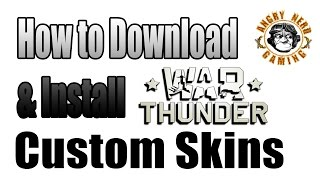 War Thunder: How To Download & Install Custom Skins