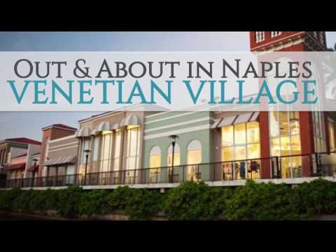 Driving Out & About in Naples - Village Shops on Venetian Bay