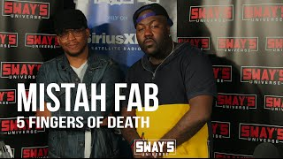 "Mistah F.A.B. Smashes an off the Top Warriors Themed 5 Fingers of Death + Talks ""Son Of A Pimp Pt.2"""