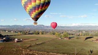Lot balonem dla dwojga – Lublin video