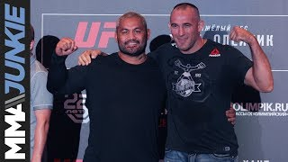 UFC Moscow: Media day fighter face-offs