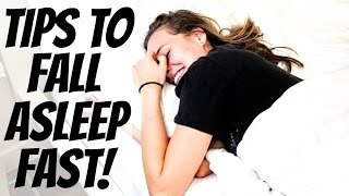 fastest ways to fall asleep