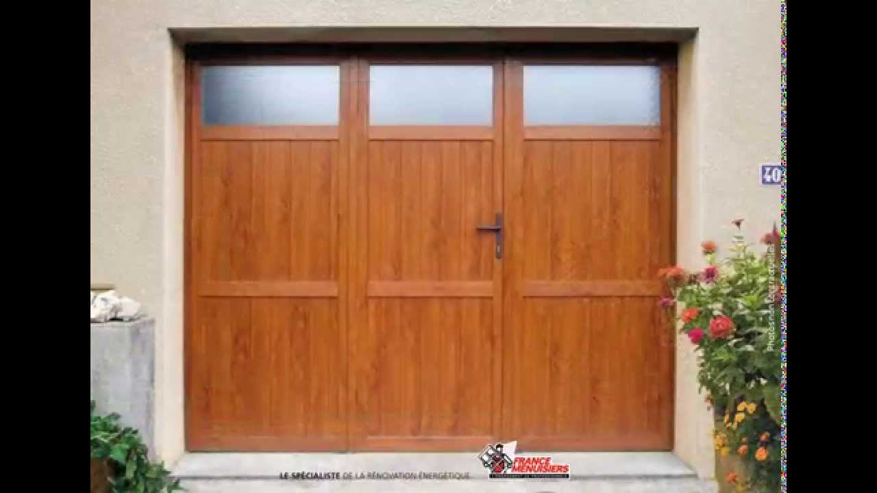Portes de garage youtube for Porte de garage fabrication francaise