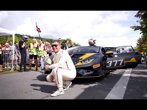 Tom K. kører Selected Car Groups Lamborghini Super Trofeo til Copenhagen Historic Grand Prix 2021