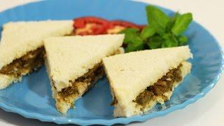 Mint Yogurt Chicken Sandwich Recipe (indian Style)