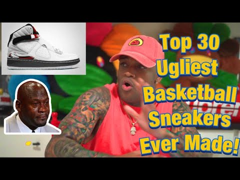Reaction video to Top 30 Ugliest Basketball Sneakers