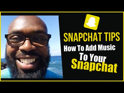Snapchat Tips | How To Add Music To Snapchat Video (Android Phones)