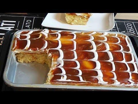 gâteau-au-caramel-facile
