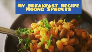 Moong Sprouts healthy tasty breakfast snack quick toddler friendly food Recipe n Diet gym snack
