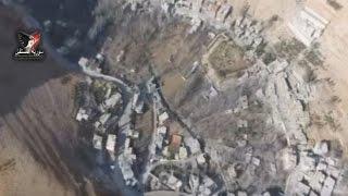 النظام وروسيا وميليشيا حزب الله يشنون حربا على دولة بسيمة في وادي بردى