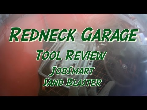 Review Of The Tractor Supply JobSmart Abrasive Blast Cabinet SKU 3951103
