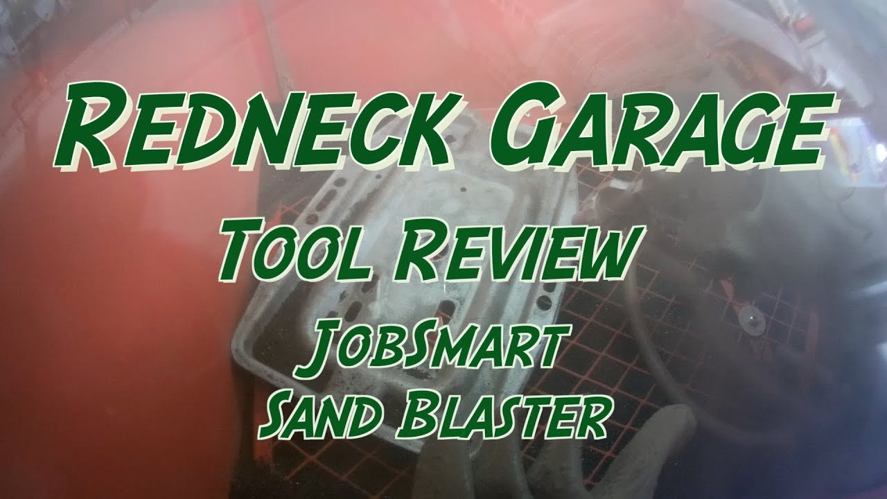 Review of the Tractor Supply JobSmart Abrasive Blast Cabinet SKU ...