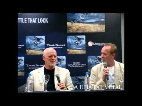Press Conference  - David Gilmour - São Paulo/Brazil