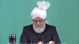 English Translation: Friday Sermon April 29, 2016 - Islam Ahmadiyya