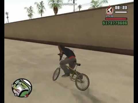 скачать мод на трюки на Bmx в Gta San Andreas - фото 8