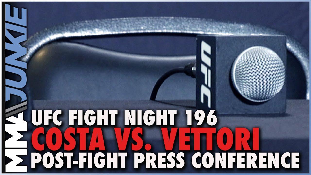 UFC Fight Night 196 post-event facts: Marvin Vettori, Paulo Costa ...