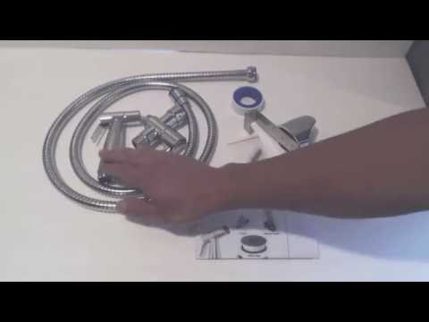 How to install a Handheld Bidet Sprayer - Installation and Review