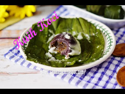Resepi Kuih Koci Paling Sedap Lembut Dan Tidak Liat|Cara Buat Kuih Koci Pulut Hitam|Kuih Tradisional online watch, and free download video or mp3 format