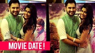 Sid & Shanaya On A Movie Date! | Siddharth Chandekar & Rasika Sunil | Marathi Entertainment