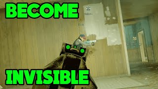 NEW INVISIBLE GLITCH ?!? - Rainbow Six Siege Gameplay